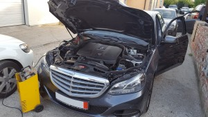 Mercedes E200CDI W212 chip tuning